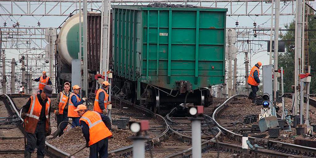 ограниченная пропускная способность инфраструктуры железнодорожного транспорта