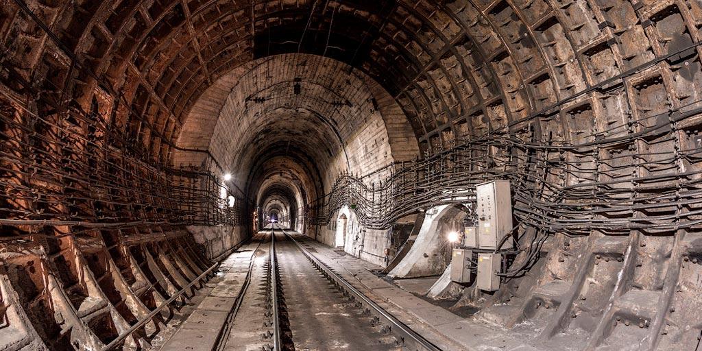 Новый Северомуйский тоннель на БАМе
